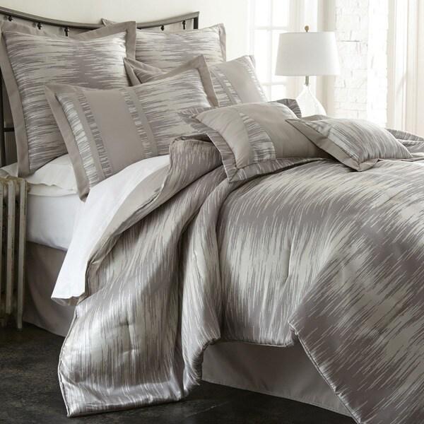 Amraupur Overseas Morning Mist 8-piece Jacquard Comforter Set