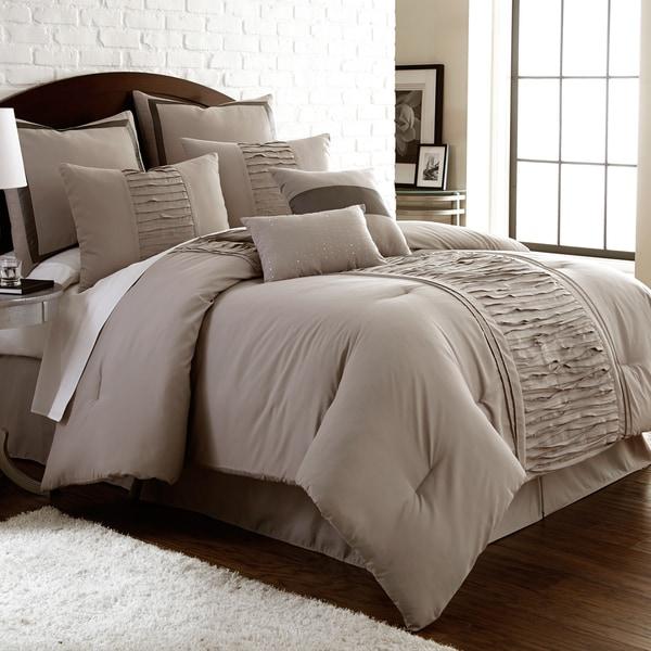 Amraupur Overseas Marilyn Embellished 8-piece Comforter Set