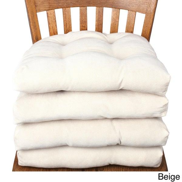 Non slip Seat Cushion with Tie backs Set of 4 Free  : Chair Pads with Two Tiebacks Non slip Seat Cushion Set of 4 6c67b7fa c94f 4862 ad8a edbe551b9020600 from www.overstock.com size 600 x 600 jpeg 35kB