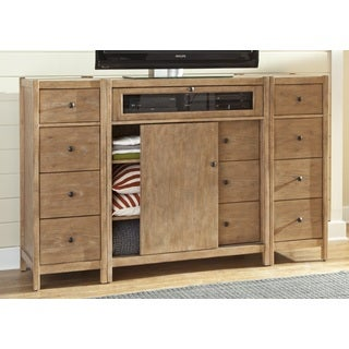 Greyson Living New Haven Entertainment Center with Optional Piers