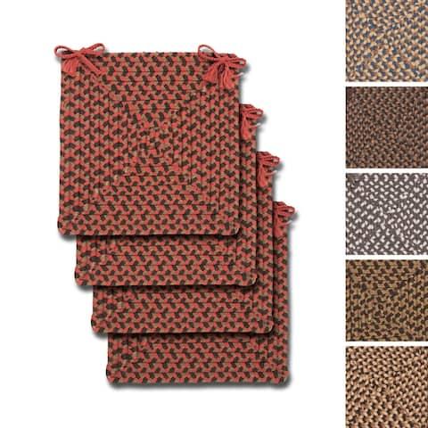 Colonial Mills Indoor/ Outdoor Everett Chairpads (Set of 4)