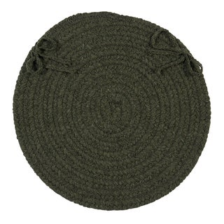 Colonial Mills Bombay Round Chair Pads (Set of 4)