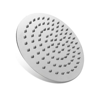 BOANN Ultra Thin Stainless Steel Round Rainfall Shower Head