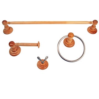 Moen Westbury Maple 4-piece Bath Accessory Kit