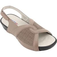 Women's Propet Madeline Taupe Leather