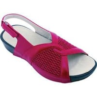 Women's Propet Madeline Chili Red Leather