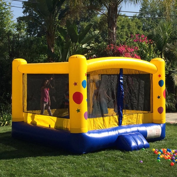 JumpOrange Lil' Kiddo 8-foot Bubble Party Bounce House