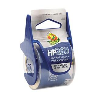 "HP260 Packaging Tape w/Dispenser, 1.88"" x 22.2 yds, Clear"