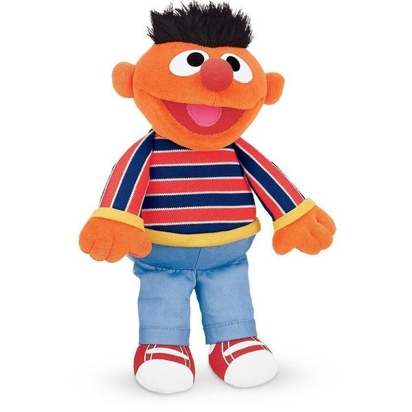 Gund Sesame Street Ernie Plush Toy. Opens flyout.