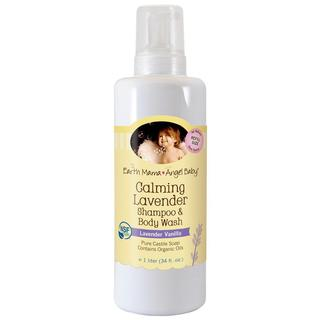 Earth Mama Angel Baby Calming Lavender 34-ounce Shampoo and Body Wash