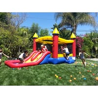 JumpOrange Kiddo Jump and Water Slide Fun House