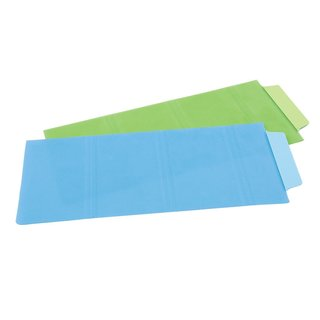 """Avery Note Tabs, Tabs and Notes in One, 3"""" x 7.5"""", Transparent Blue & Green, 6/Pack (AVE16332)"""
