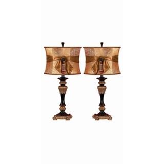 Polystone Table Lamp