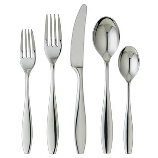 Ginkgo Skandia 20-piece Stainless Steel Flatware Set