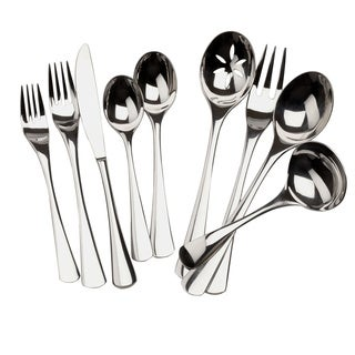 Ginkgo Mariko 20-piece Stainless Steel Flatware Set