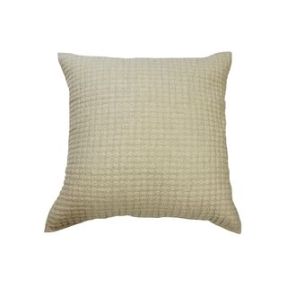 Karina Natural Diamond Quilted Euro Sham