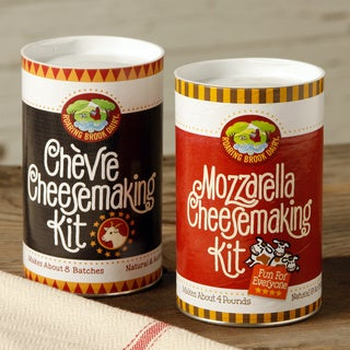 DIY Mozzarella and Chevre Cheesemaking Kit