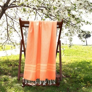 Authentic Pestemal Fouta Allure Herringbone Turkish Cotton Bath/ Beach Towel
