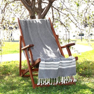 Authentic Hotel and Spa Pestemal Fouta Allure Herringbone Turkish Cotton Towel