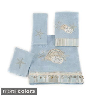 Avanti By The Sea Embellished 4-piece Towel Set