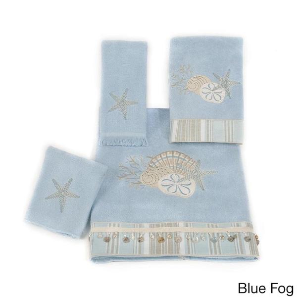 Avanti By The Sea Embellished 4-piece Towel Set