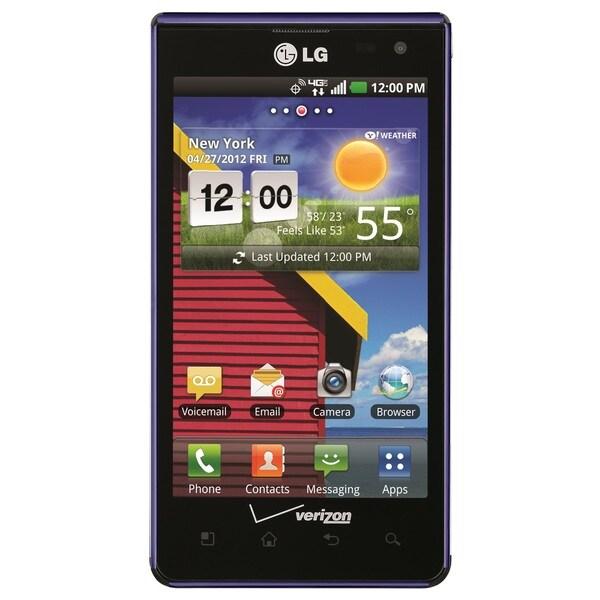 LG Lucid 4G LTE VS840 8GB Verizon CDMA Purple Android Phone (Refurbished)