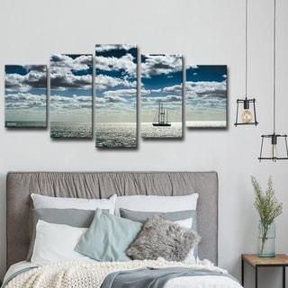 Ship' 5-Piece Wrapped Canvas Wall Art Set