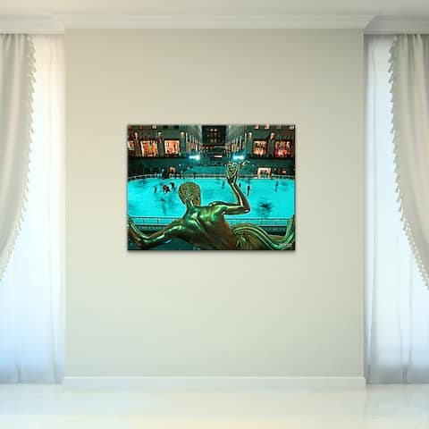 Rockefeller' Photographic Wrapped Canvas Wall Art