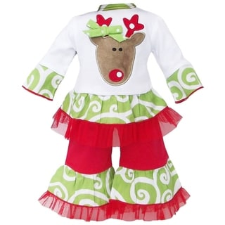 AnnLoren Christmas Reindeer Doll Outfit
