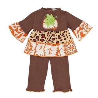 AnnLoren Thanksgiving Harvest Pumpkin Doll Outfit
