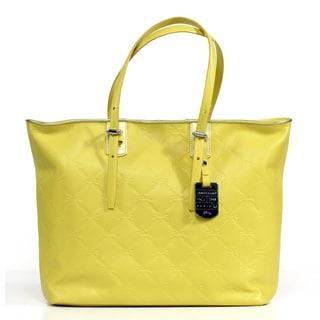 Longchamp LM Cuir Medium Leather Tote Bag