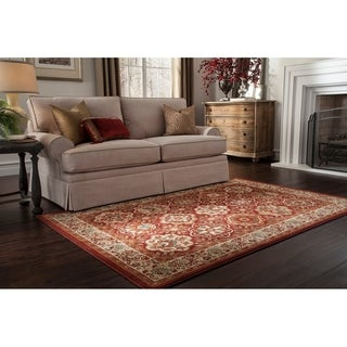 Mohawk Symphony Copperhill Madder Brown Rug (5'3 x 7'10)