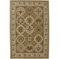 Mohawk Home Symphony Copperhill Pale Wheat Rug (5'3 x 7'10) - 5'3  x  7'10