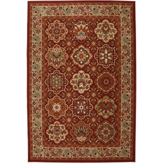 Mohawk Symphony Copperhill Madder Brown Rug (8' x 11')