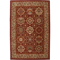 Mohawk Home Symphony Copperhill Madder Brown Rug - 8' x 11'