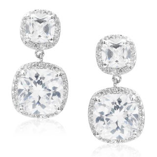 Journee Collection Cubic Zirconia Dangle Earrings