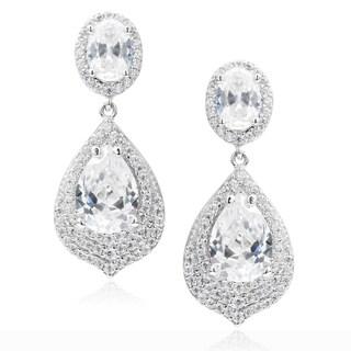 Journee Collection Cubic Zirconia Dangle Earrings