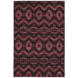 Nourison Spectrum Burgundy Black Rug (8 x 10'6)