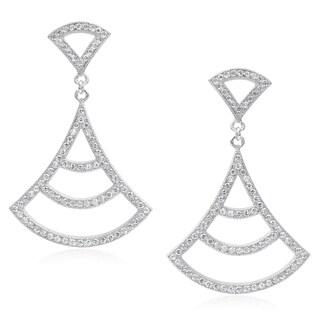 Journee Collection Cubic Zirconia Dangle Post Earrings