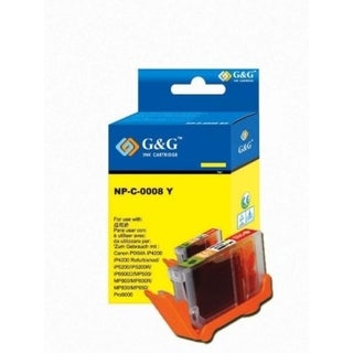 Insten Yellow Non-OEM Ink Cartridge Replacement for Canon CLI-8Y/ 8 Y