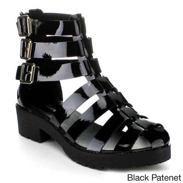 FOREVER KENDAL-1 Women's Strappy Gladiator Sandals