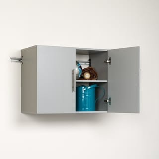 Stone Grey 30-inch Upper Storage Cabinet