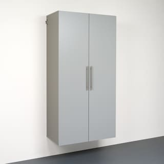 Stone Grey 36-inch Large Storage Cabinet