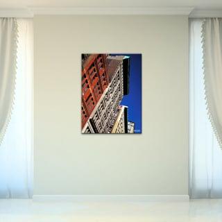 Bruce Bain 'Buildings' Canvas Wall Art