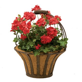 Solera 15-inch Metal Basket with Coco Liner