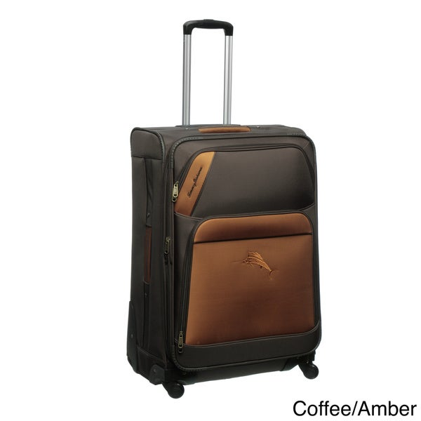 Tommy Bahama Course 28-inch Expandable Spinner Upright Suitcase