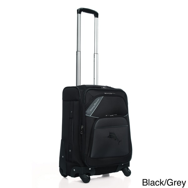 Tommy Bahama 'Course' 20-inch Expandable Carry On Spinner Upright Suitcase
