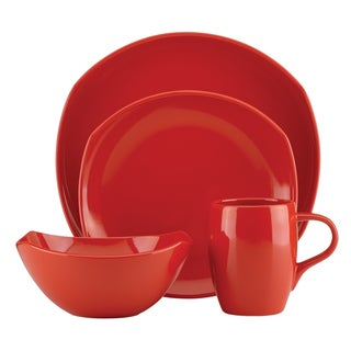 Dansk Classic Fjord Chili Red 16-piece Dinnerware Set