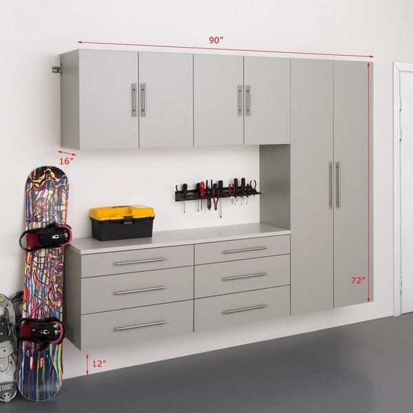 "Prepac HangUps 90"" Storage Cabinet Set H - 5pc"