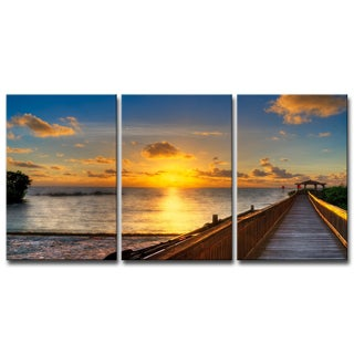 Havenside Home Key's Sunrise' 5-piece Set Canvas Wall Art by Bruce Bain (4 options available)